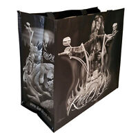DGA Day of the Dead Art Shopping Tote Bag Reusable Lovers Ride Or die Motorcycle