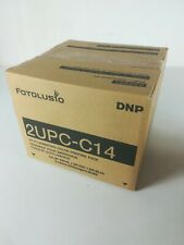 DNP 2UPC-C14 4x6in Supporto Stampa/sony 2 Upcc 14 Per Snap Lab / Fotolusio