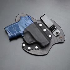 M&P Bodyguard 380 (no laser) Kydex Leather Gun Holster IWB Appendix Carry S&W