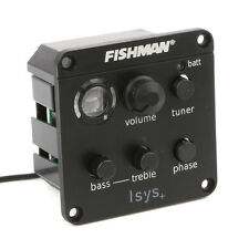 FISHMAN ISYS+ ACOUSTIC GUITAR PICKUP ONBOARD PREAMPS EQ New