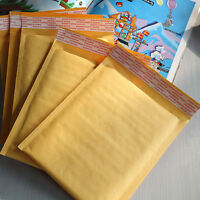 10 x Kraft Bubble Envelopes Padded Mailers Shipping Self-Seal Bags 150x180mm Ggt
