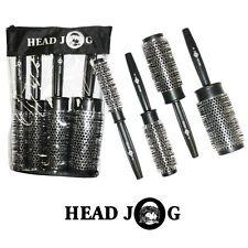 Head Jog Quad Brush Set Heat Retaining Round Brush-07,12,15,25,35,45mm