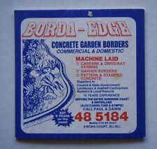 BORDA - EDGE CONCRETE GARDEN BORDERS PAUL & DAWN 8 MONA BLI BLI 485184 COASTER