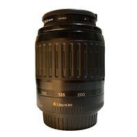 CANON Zoom Lens EF 80-200mm 1:4.5-5.6 Lens +Caps Kenko 52mm Filter Made In Japan