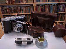 Balda Baldinette Vintage 35mm Camera w/case, nightvision lens & range finder