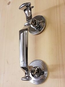 Chrome 'Doctors' door knocker