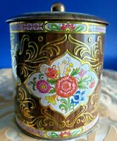 DAHER Designed Collectible Vintage Tin Long Island, NY Made In England RARE