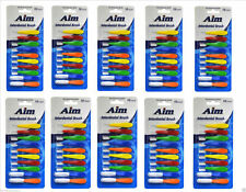 100 Pcs AIM Interdental Brushes Dental Brush Floss Removes Plaque Between Teeth