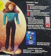 "9"" Dr. Beverly Crusher Unopened1995 Star Trek Playmates Collector Series Figure"