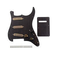 Prewired SSS Guitar Pickguard Alnico V Pickups for ST Strat Premium Luthier Part