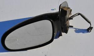 2001 Saturn SL2 Left Driver Side Mirror Black Plastic LH Power Side View Mirror