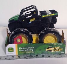 Monster Treads Lightning Wheels John Deere RSX Gator  Tomy Stock #37792