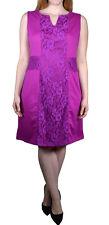 Sheath DRESS womans plus size 1X, 2X, 3X black, purple, Lace
