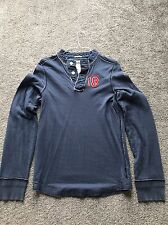 Abercrombie & Fitch Rugby Jersey - Blue - Small