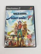 Wild Arms: Alter Code F PS2 (PlayStation 2, 2005) Complete CIB w/DVD Rare RPG