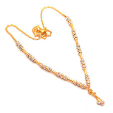 Necklace Kundan Ad Jade Gold Finish Simply Look Jewelry With Out Earrings 7167