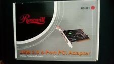 Rosewill RC-101 USB 4-Port PCI Adapter