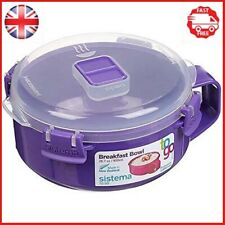 Sistema Klip It Microwave Porridge To Go, 850ml, Assorted colour