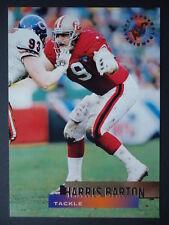 NFL 98 Harris Barton San Francisco 49ers Topps Stadium Club 1995