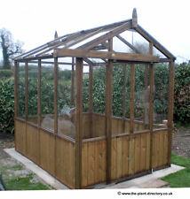 Traditional Timber Apex Greenhouse 8ft x 6ft - inc Delivery to most postcodes