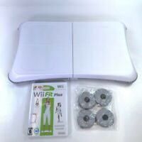 Wii Fit Plus Nintendo Video Game Disc Balance Board Instruction Manual Rated E