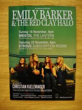 EMILY BARKER & THE RED CLAY HALO FLYER - FROM BRISTOL AND STROUD NOVEMBER 2014