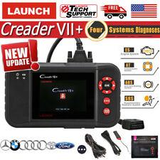 LAUNCH X431 Creader VII+ OBD2 Car Diagnostic Scanner Transmission ABS SRS CRP123