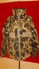 Vintage Columbia Reversible Camouflage Camo Hunting Shooting Jacket Coat Large L