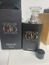 Acqua Di Gio Profumo by Giorgio Armani Men 6.08oz 180 ml New In Box NOT SEALED