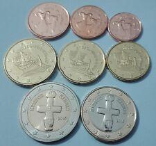 Kompletter KMS Kursmünzensatz Zypern 2015, BU Unzirkuliert, 1 Cent - 2 Euro, N
