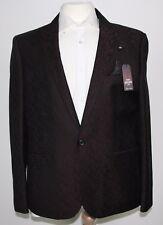 Men's Harry Brown, Deep wine patterned Party blazer (46S).. sample 1408