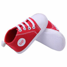 Red Lovely 9-12 Months Baby Kids Sneakers Soft Sole Shoes Infant Boy Girl Shoes