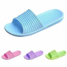 Women Indoor Shower Bath Slippers Bathroom Non-Slip Shoes Home Beach Sandals US