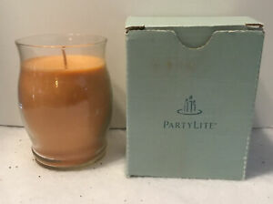 Partylite BLACK CHERRY Mini Barrel Jar Candle VERY RARE SCENT