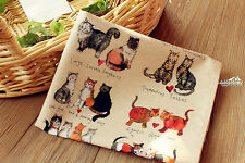 CATS 100% Cotton Kitchen Tea Towel