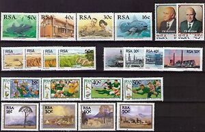 South Africa 1989 Commemorative stamps unhinged