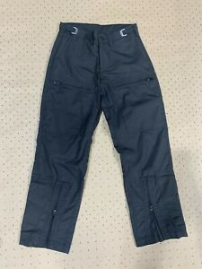 Nomex Trouser 150gsm Black (#20) Size: 74w -6 wst, -4 thigh to cuff, - 4 o/leg