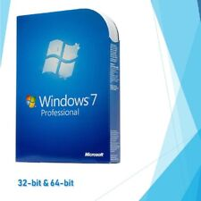 Genuine Microsoft Windows 7 Professional Pro ✔32 64-bit Key ✔Product Activation