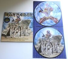 Iron Maiden - Somewhere Back In Time UK 2008 EMI 1st Press DBL Picture Disc LP