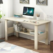 Wood Computer Desk PC Laptop Table Study Workstation Home Office Furniture B