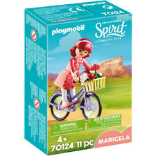 Playmobil 70124 Dreamworks Spirit Riding Free: Mericela with Bicycle Figure Pack