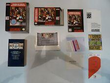 Where in Time Carmen Sandiego? SNES Super Nintendo Complete **BIG BOX 100% CIB**