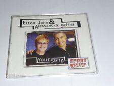 Elton John/Alessandro Safina - Your Song PROMO CD Single