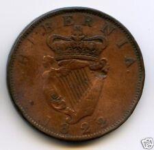 IRLANDE GEORGE IV (1820-1830) PENNY 1822