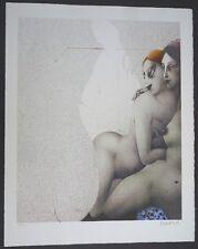 Paul Wunderlich Bains Turcs farblithographie 1981 handsign. et êmes. 64/1000