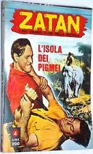 "Zatan n.4 ""I più grandi film Giungla"" con Johnny Weissmuller ed. Ponzoni 1970"