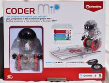MiP Coder Robot - WowWee - New Deluxe Version 2.0 - See-through - Apple &Android