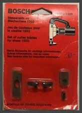 Bosch® 2607010029 Replacement Set of Cutter Blades - w/Hardware - 1503 Shear