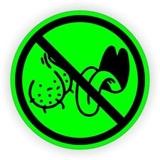 NO BAG LICKERS Funny Hard Hat Sticker | Motorcycle Safety Helmet Decal | Label