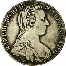 [#498498] Monnaie, Autriche, Joseph II, Thaler, 1780, Vienna, Refrappe, TB+